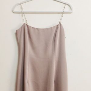 Laundry by Shelli Segal Nude Maxi Dress (8)